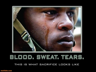 Sacrifice army marines soldier demotivational posters 1302625690